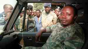Former Rwandan army chief General Augustin Bizimungu in July, 1994.