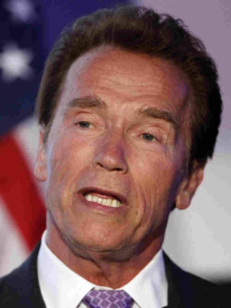 Arnold Schwarzenegger, May 10, 2011.