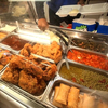 A buffet at a Double Quick convenience store in Holmes County, Miss., shows a wide array of fried foods.