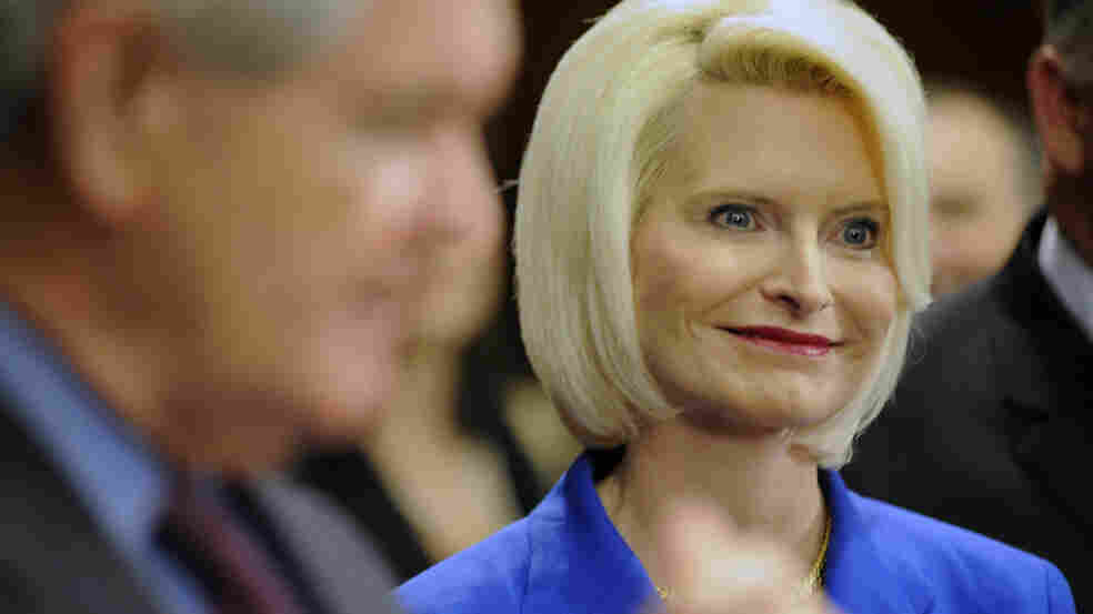 Republican presidential candidate Newt Gingrich has acknowledged having an extramarital affair with Callista (above), then a congressional aide and now his third wife, while he was married to his second wife.