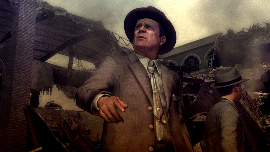 The new game <em>L.A. Noire</em> is meant to make players feel as if they've stepped into a Raymond Chandler novel, or a noir movie.