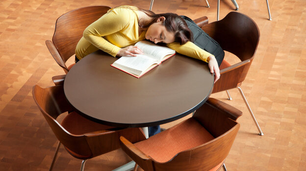 """This idea of sacrificing sleep  for academics is an oxymoron,"" says neurologist Helene Emsellem. ""We learn during sleep, so we need to sleep to learn."""