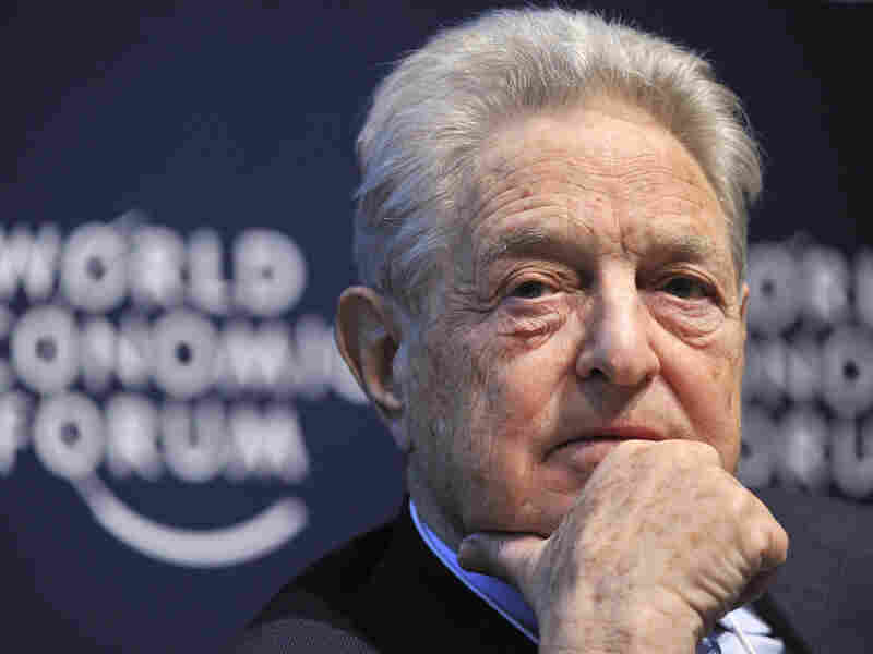 George Soros founded The Open Society Institute, which donated $1.8 million to NPR's Impact of Government project.