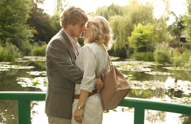 Owen Wilson is a writer with a block — and a fiancee (Rachel McAdams) who may be part of the problem — in Woody Allen's latest romance.