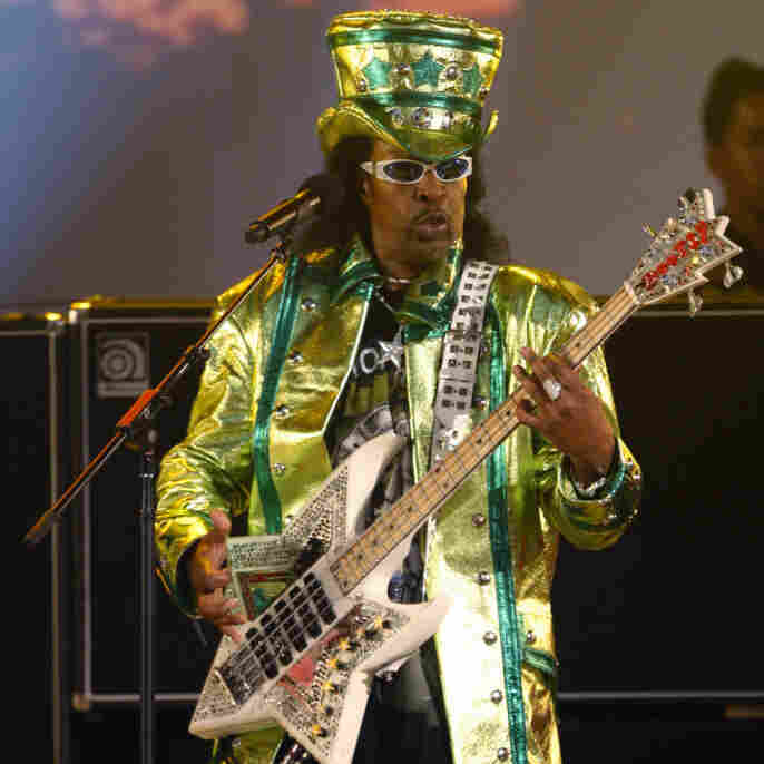 Bootsy Collins is performing at the 2007 BET Awards in Los Angeles.