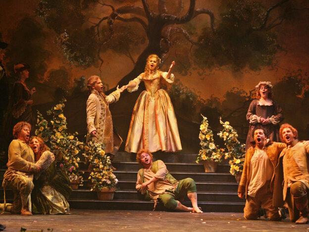 The ballad opera 'Flora': from early 18th-century England to 21st-century Charleston.