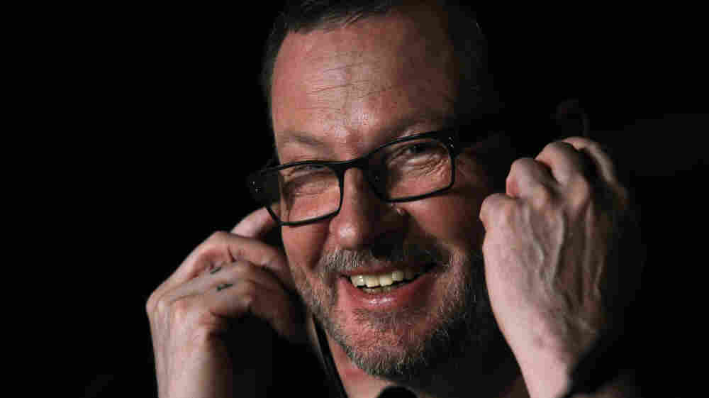 In this photo taken Wednesday, May 18, 2011, director Lars Von Trier attends a press conference for Melancholia.