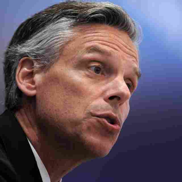 Huntsman Flirts With Up-In-The-Air GOP Race