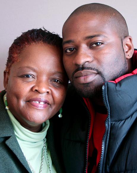 Forgiving her son's killer