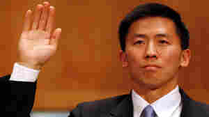 Republicans mounted a successful filibuster Thursday against judicial nominee Goodwin Liu, shown at a Senate Judiciary Committee hearing in April 2010.