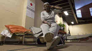 Vivian Taylor-Wells was staying at a Red Cross shelter in Vicksburg, Miss., after the rising Mississippi River forced her from her home a week ago and her money for a motel room ran out.