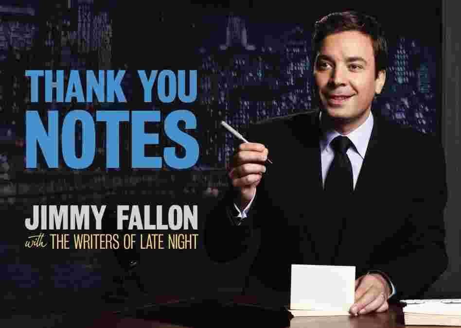 jimmy fallon thank you notes sheet music pdf