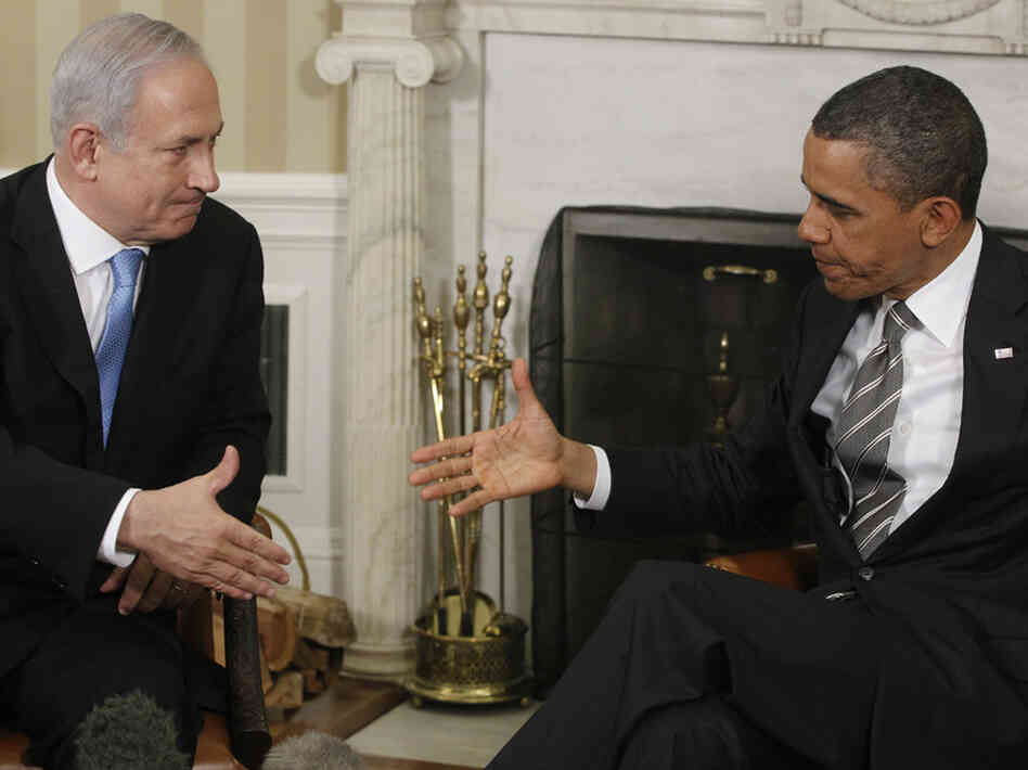 President Obama meets with Prime Minister Benjamin Netanyahu of Israel in the Oval Office at the White House on Friday.