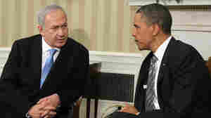 At White House, Netanyahu Calls '67 Border Lines 'Indefensible'