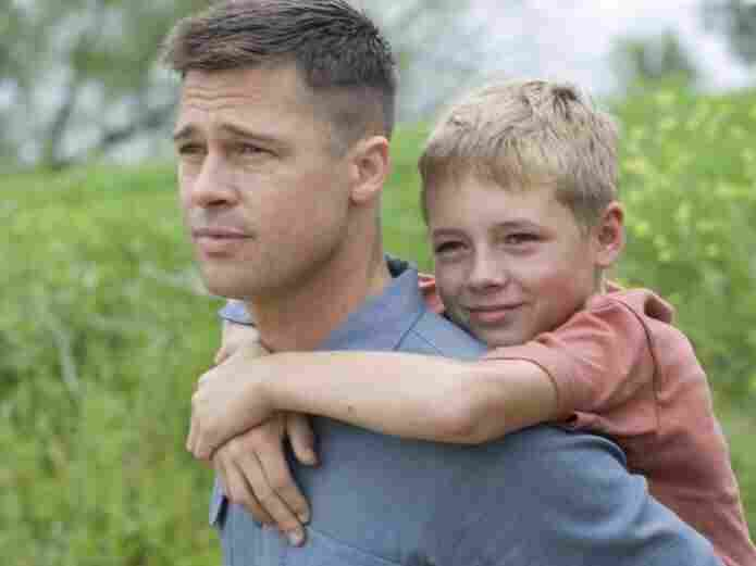 Brad Pitt and Laramie Eppler star in Terrence Malick's The Tree of Life, which won the festival's Palme d'Or prize.