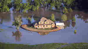 Come High Water, Homemade Levees May Save The Day