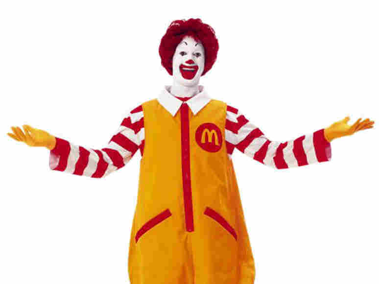 Ronald McDonald is here to stay, McDonald's CEO said at a shareholder meeting outside Chicago.