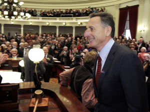 Vermont Gov. Peter Shumlin has only been in office since January, but he's already looking years ahead to what the state's health care system could look like.