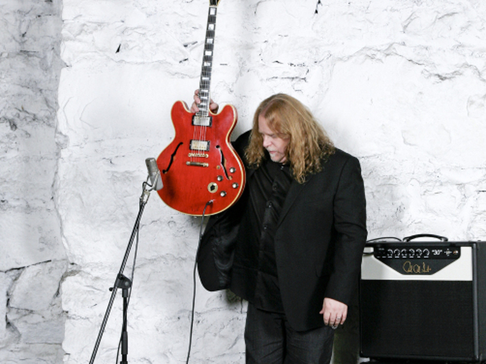 "Legendary guitarist Warren Haynes practically ignores his guitar and instead pours out his heart in ""Save Me."""