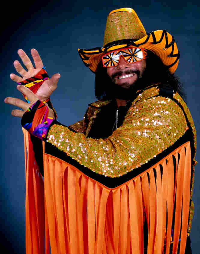 """Randy """"Macho Man"""" Savage won some 20 championships during his career in the wrestling ring."""