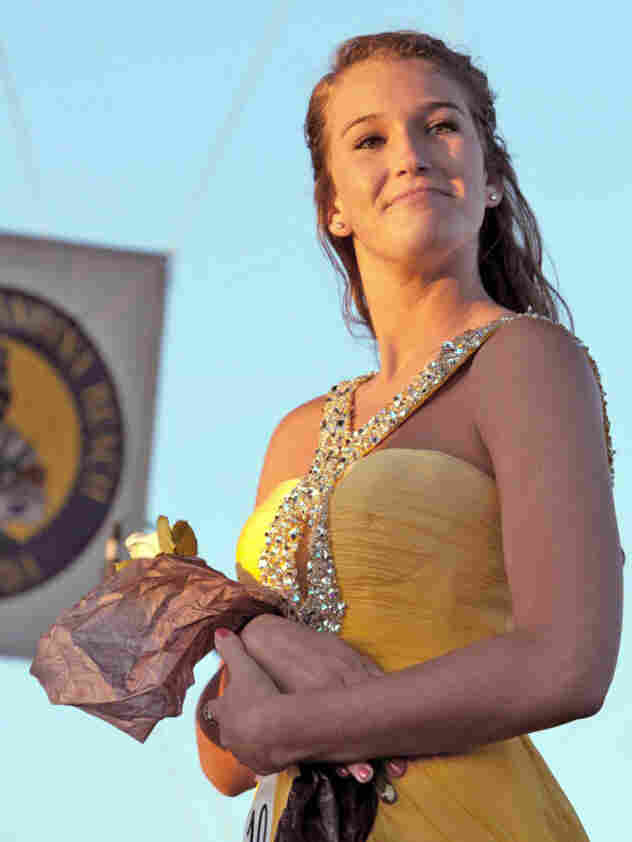 Sarah Parker was homecoming queen.