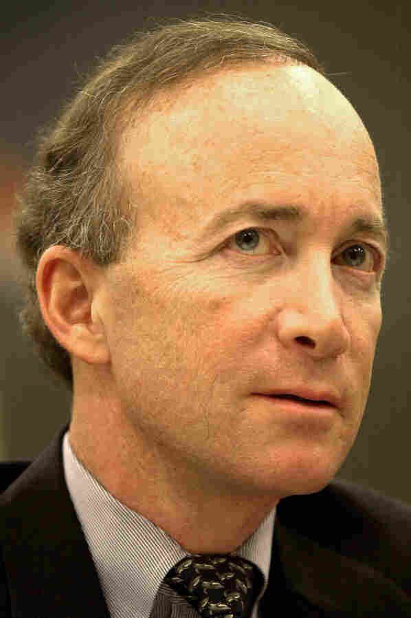 Indiana Gov. Mitch Daniels, in 2003 when he was director of the Office of Management.
