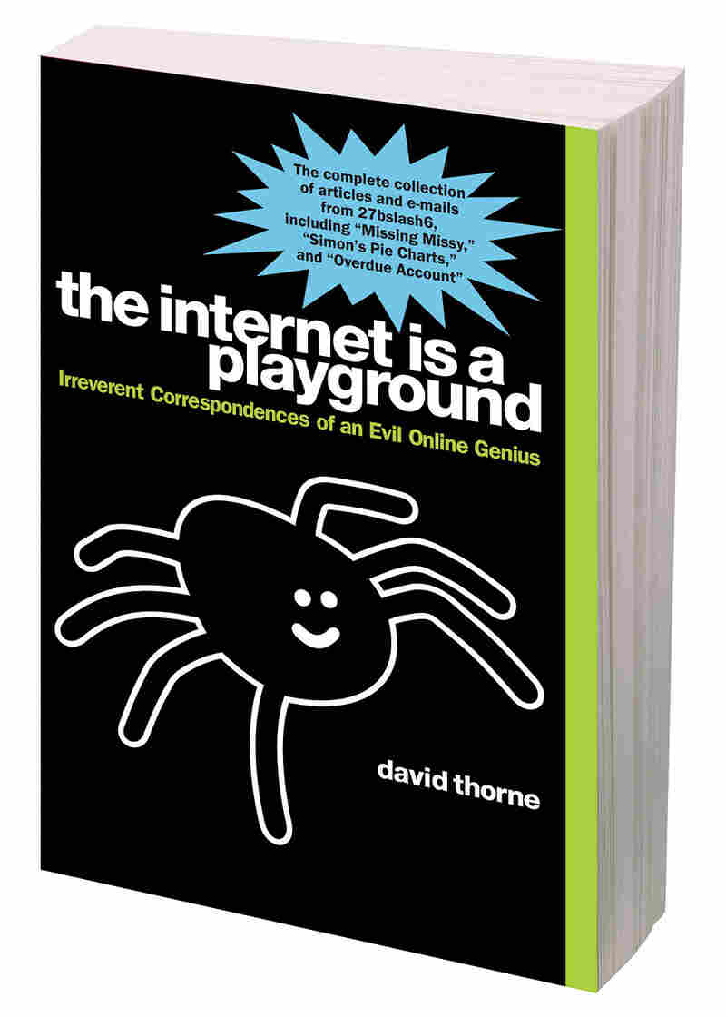 "The cover of ""The Internet is a Playground."""