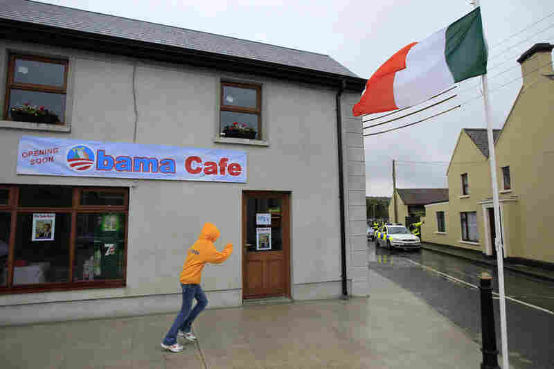 The newly constructed Obama Cafe in Moneygall will open soon.