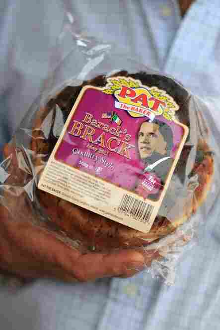 """Barack's Brack"" bread honors Obama's visit."