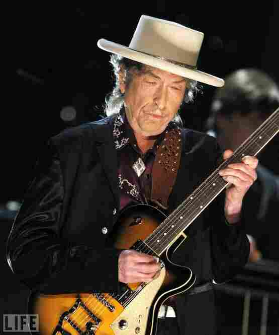 """Dylan performs in 2009. President Bill Clinton once said of him, """"He probably had more impact on people of my generation than any other creative artist."""""""