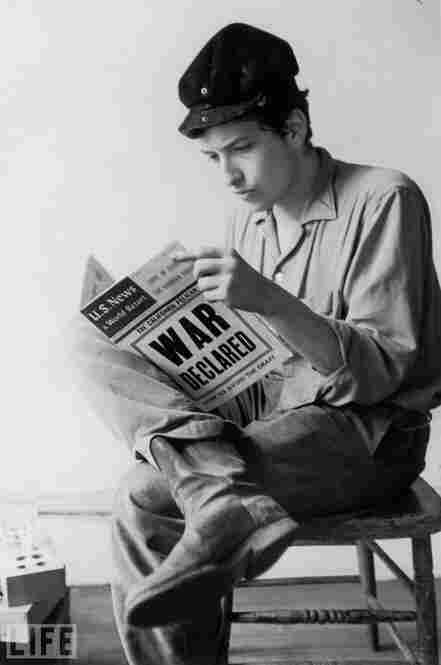 Robert Allen Zimmerman, known to most as Bob Dylan, was born May 24, 1941. The native Minnesotan relocated to the Big Apple in 1961 after dropping out of college; he's shown here in 1962.