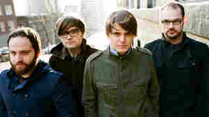 Death Cab for Cutie (from left): Nick Harmer, Ben Gibbard, Chris Walla, Jason McGerr.