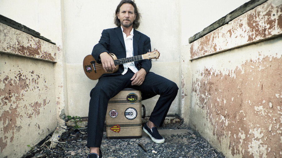 Eddie Vedder Talks About His Ukulele Songs The Record Npr