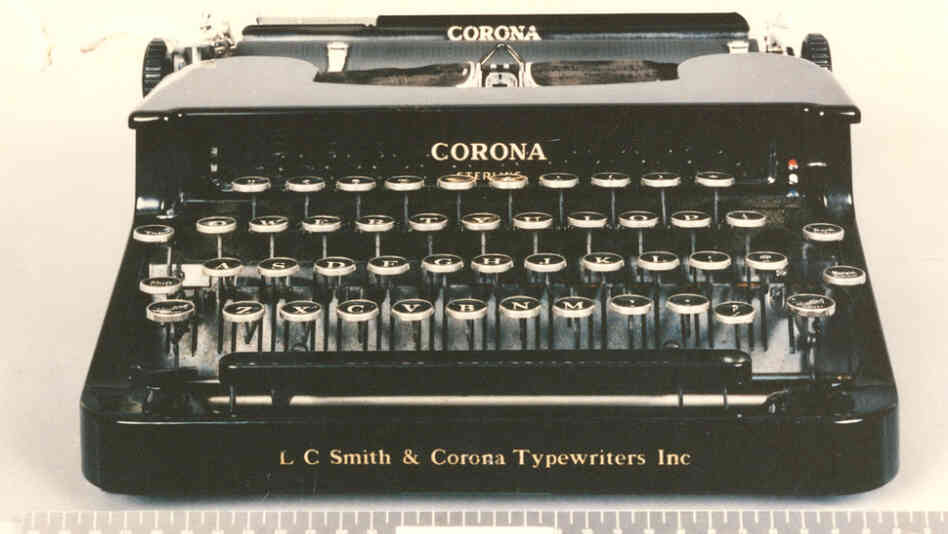 "The manual typewriter that Ted Kaczynski used to type most of his Unabomb documents, including the ""Unabomb manifesto."" It was seized by the FBI during a search of his cabin in April 1996."