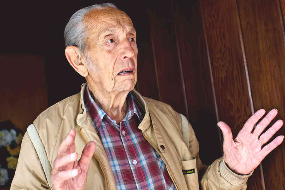 "On the morning of Sunday, May 22, Harold Camping says he is shocked and ""totally bewildered"" by his failed prediction that the rapture would occur May 21."