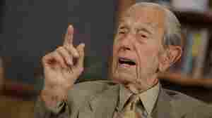 Harold Camping speaks during a taping of his show Open Forum in Oakland, Calif., on Monday (May 23, 2011).