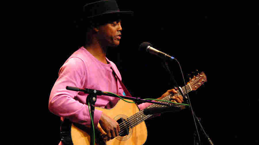 Eric Bibb performs on Mountain Stage.