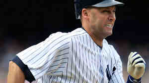 Once an example of smooth speed at the plate and in the field, the New York Yankees' Derek Jeter has faced doubters this year.