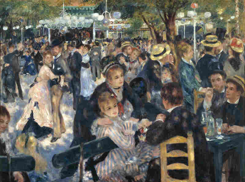 Caillebotte purchased Renoir's Dance at Le moulin de la Galette and many other Impressionist works long before they were popular. Works in his collection by the likes of Monet, Renoir, Pissarro and more would one day be recognized among the world's greatest Impressionist works.