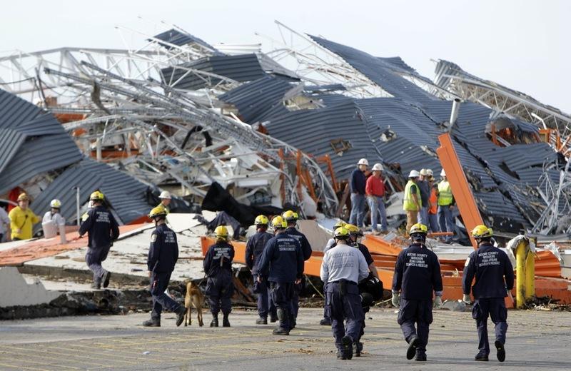 House-To-House Search For Joplin Tornado Survivors : NPR