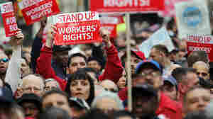 Collective Bargaining Curbs Spread Across The U.S.
