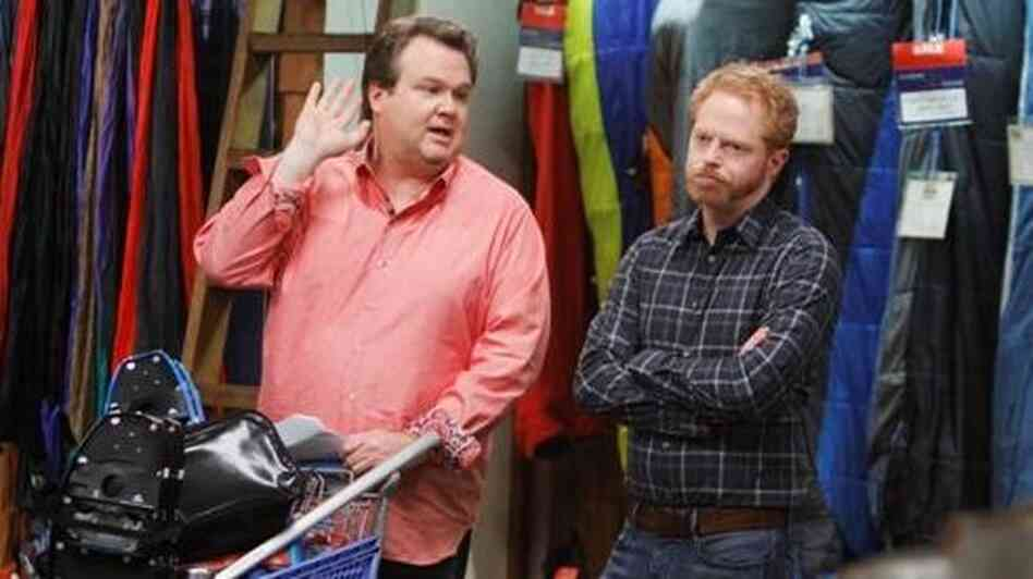 Cameron (Eric Stonestreet) and Mitchell (Jesse Tyler Ferguson) have the only relationship on Modern Family that rarely resolves with actual warmth.