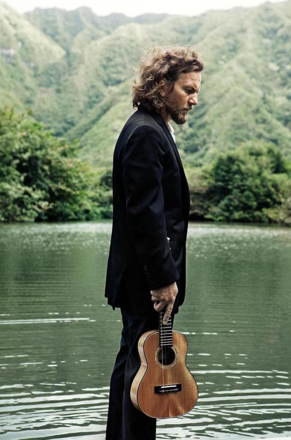 First listen eddie vedder ukulele songs wbur news eddie vedder hexwebz Choice Image