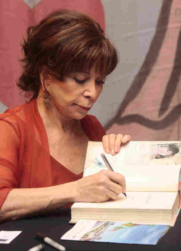 Chilean author Isabel Allende, who currently lives in California, was one of the many authors who came to speak at the fair. Her most recent novel is Island Beneath the Sea.