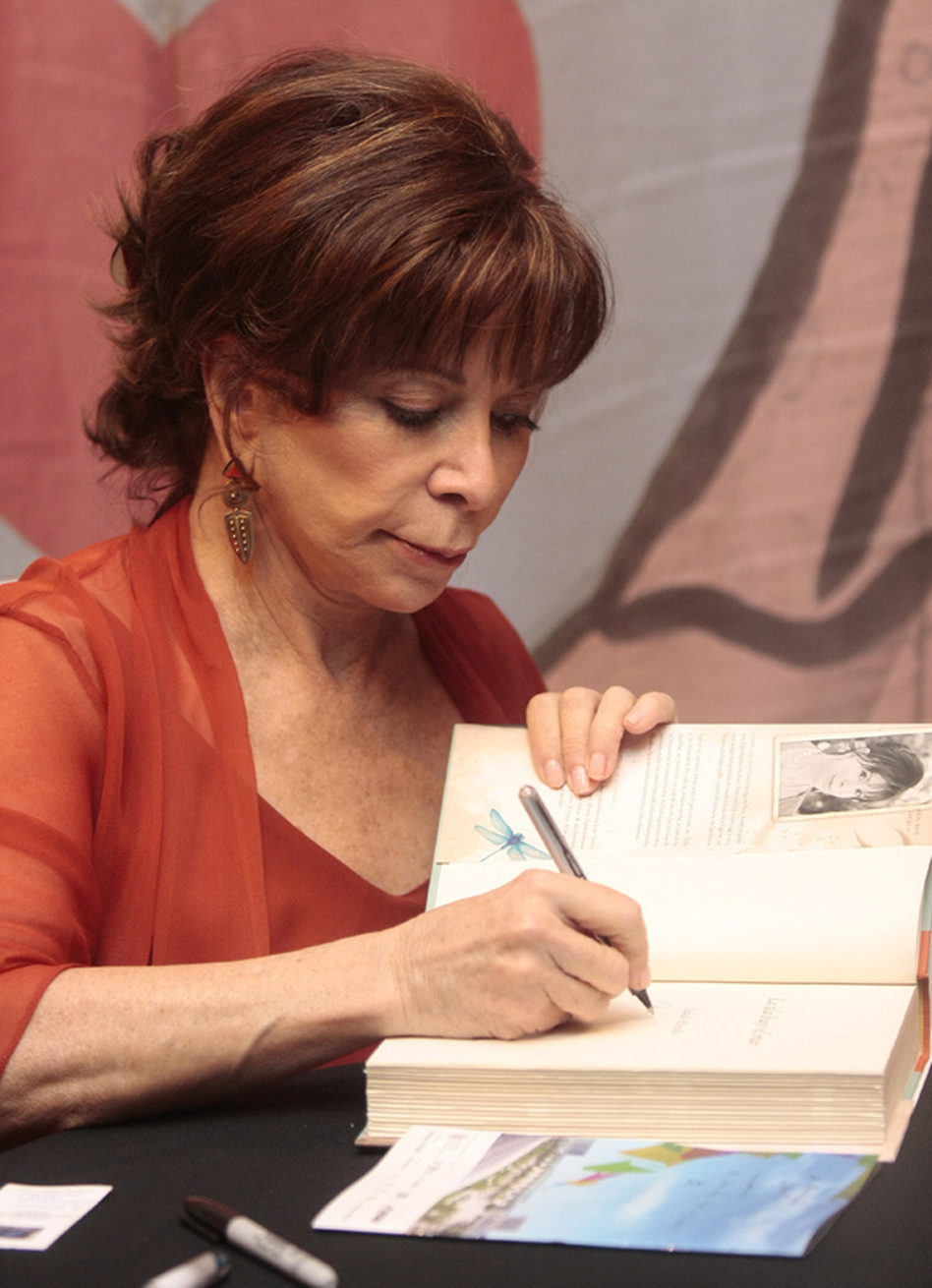 Chilean author Isabel Allende, who currently lives in California, was one of the many authors who came to speak at the fair. Her most recent novel is <em>Island Beneath the Sea</em>.