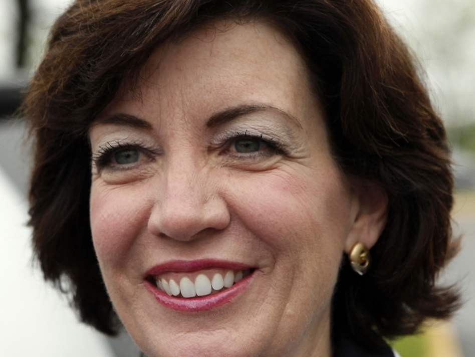 Democrat Kathy Hochul, winner of a special election for a House seat in New York. (AP)