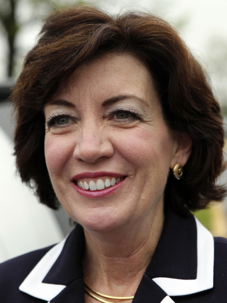 Democrat Kathy Hochul, winner of a special election for a House seat in New York.