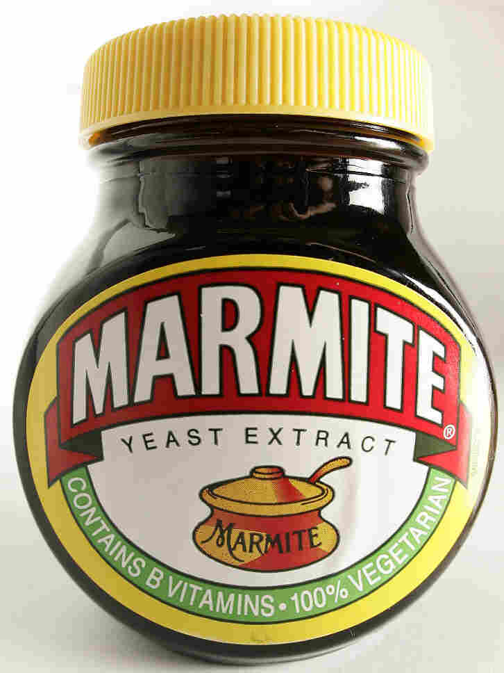 A jar of Marmite.
