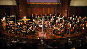 Brad Lubman, the Wordless Music Orchestra, and Signal Ensemble play live on May 20, 2011 at New York's Society for Ethical Culture.