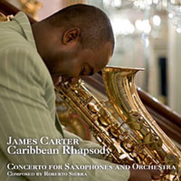 Cover for James Carter's Caribbean Rhapsody.